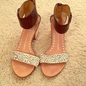 Dolce Vita Polka Dot Sandals